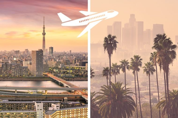 tokyo to los angeles most expensive flights