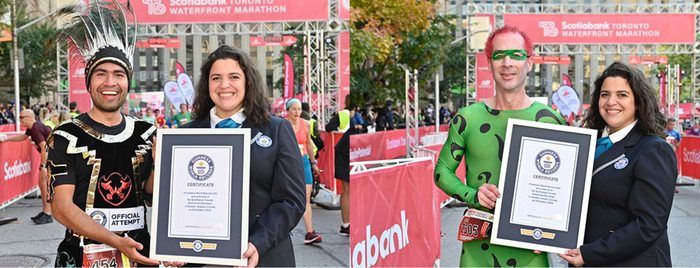 toronto marathon world record