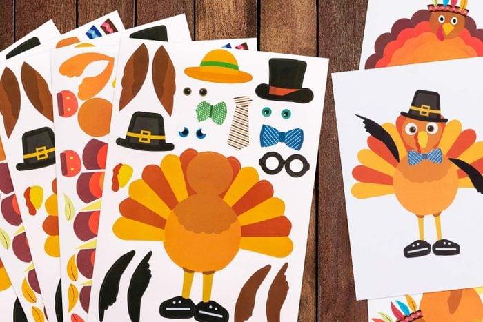 Turkey Stickers
