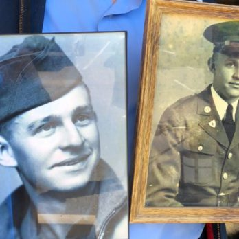 This Veteran Found His Long-Lost Love After 75 Years