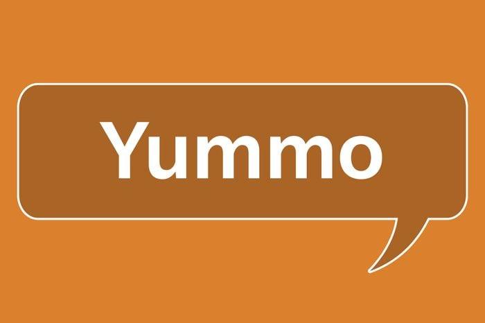slang words yummo