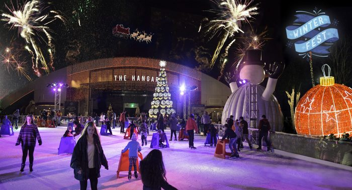 winterfest family friendly NYE New Year's orange county California