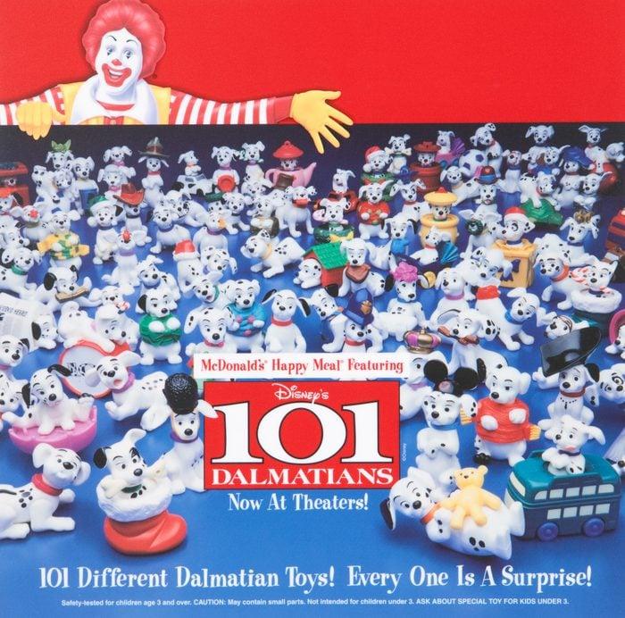 mcdonald's 101 dalmatians happy meal toy