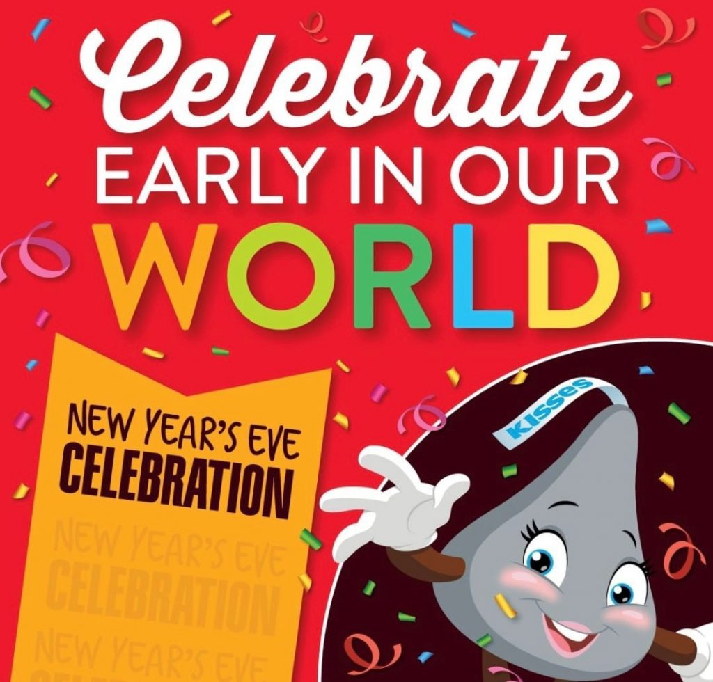 NYE hershey park family friendly new year's