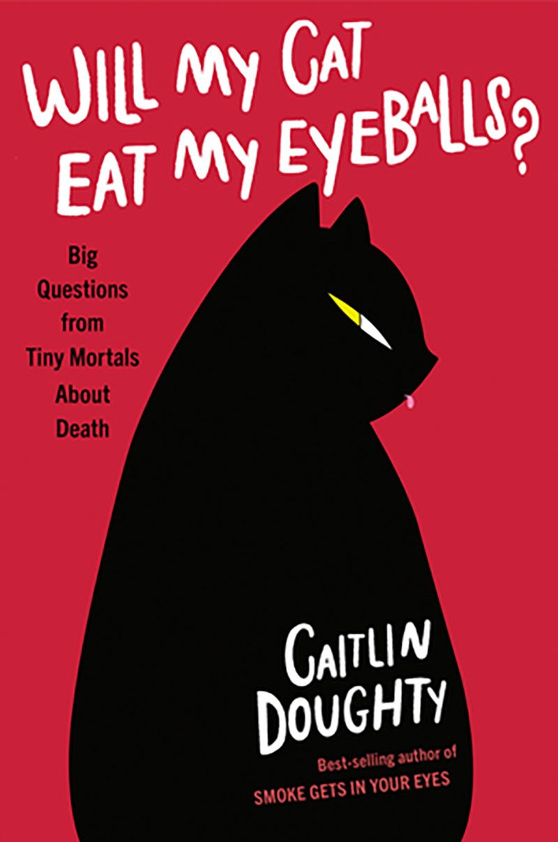 will my cat eat my eyeballs book