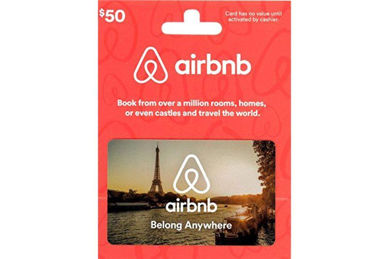 air bnb gift card