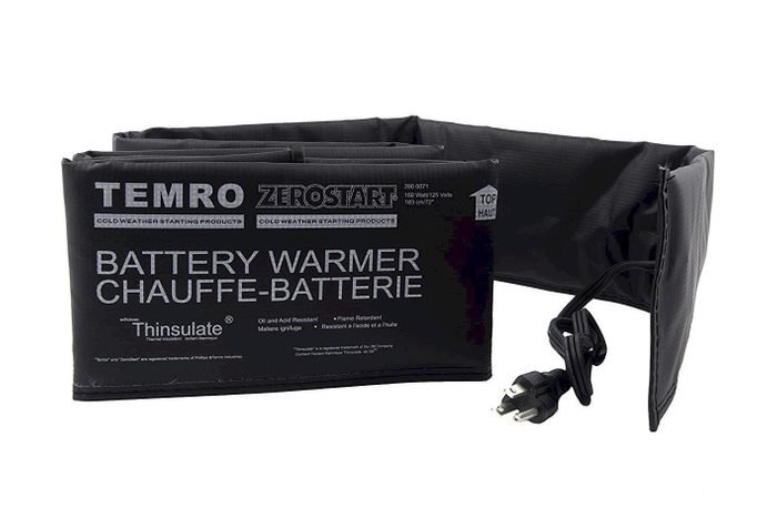 battery warmer