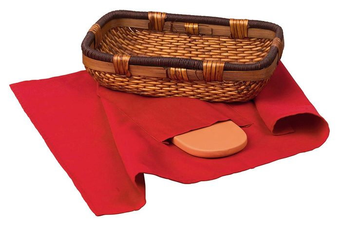 origins bread warmer and basket