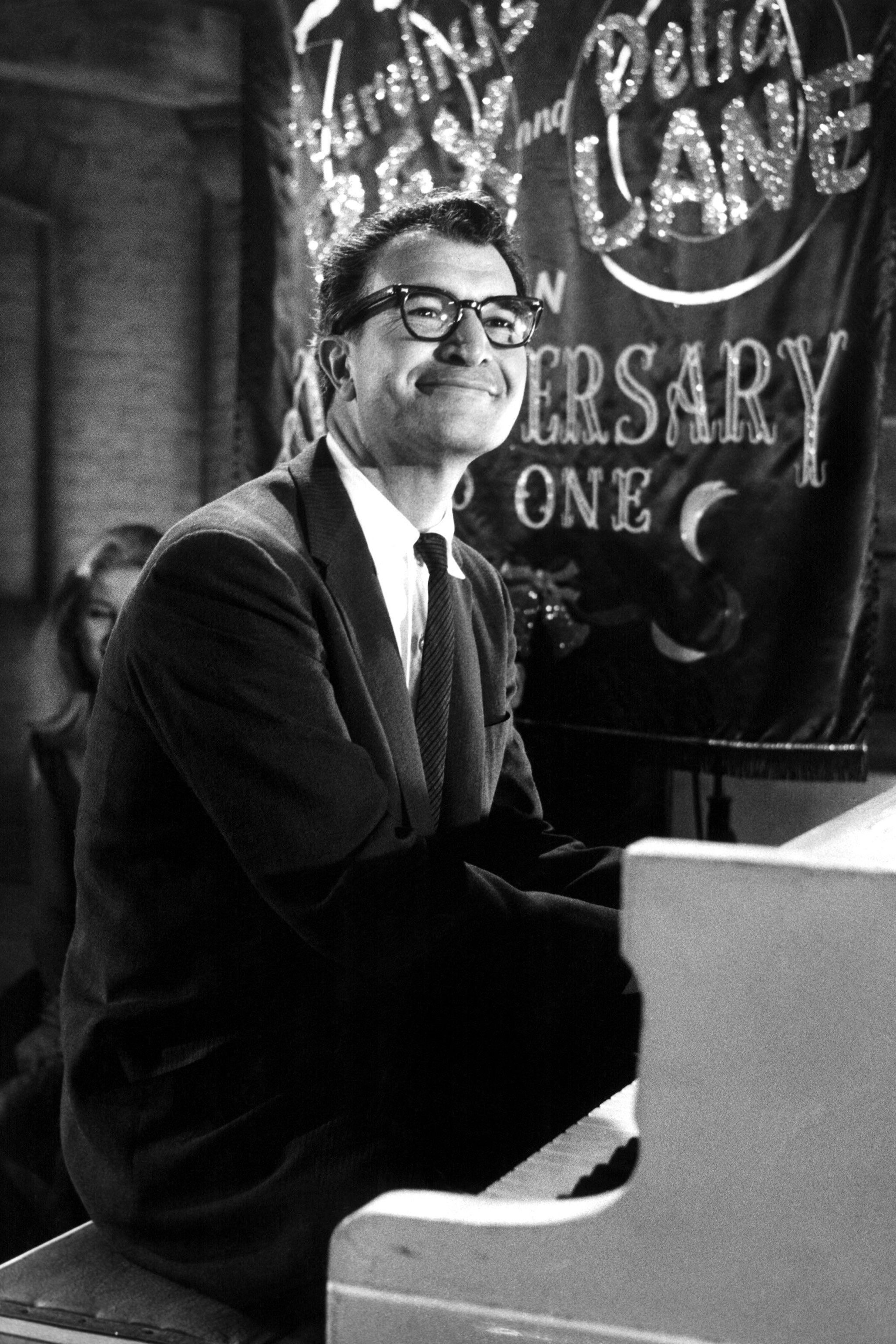 Mandatory Credit: Photo by ITV/Shutterstock (790382hb) 'All Night Long' - Dave Brubeck GTV Archive