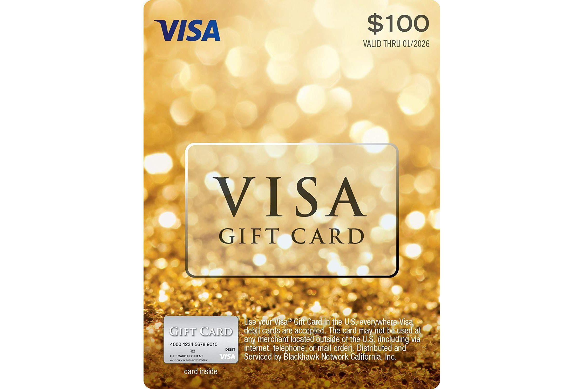 visa gift car