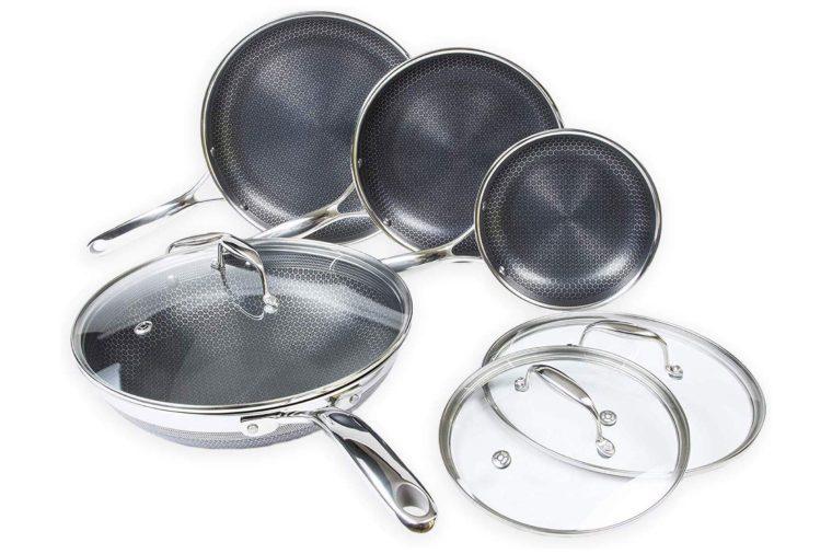 hexclad hybrid nonstick cookware