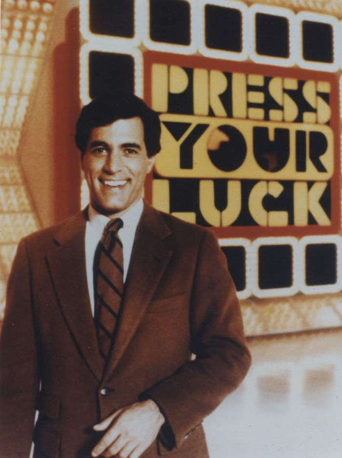 Editorial use only. No book publishing Mandatory Credit: Photo by Fremantle Media/Shutterstock (854357du) 'Press Your Luck' - Peter Tomarken Thames TV