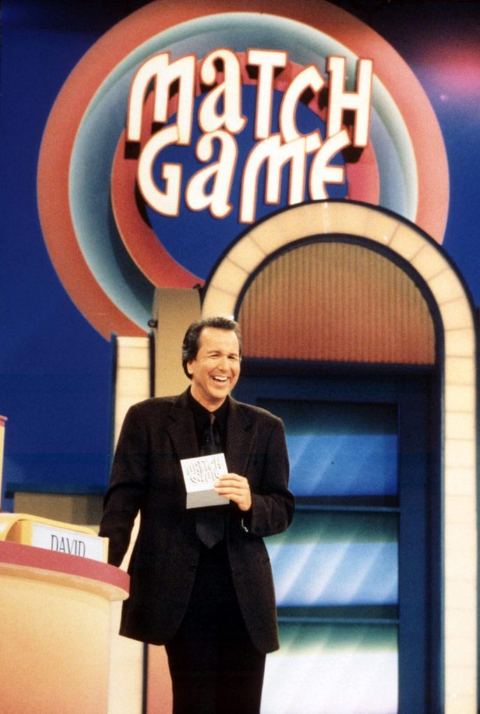 Editorial use only. No book publishing Mandatory Credit: Photo by Fremantle Media/Shutterstock (854604br) 'Match Game' - USA - Michael Burger Thames TV Archive