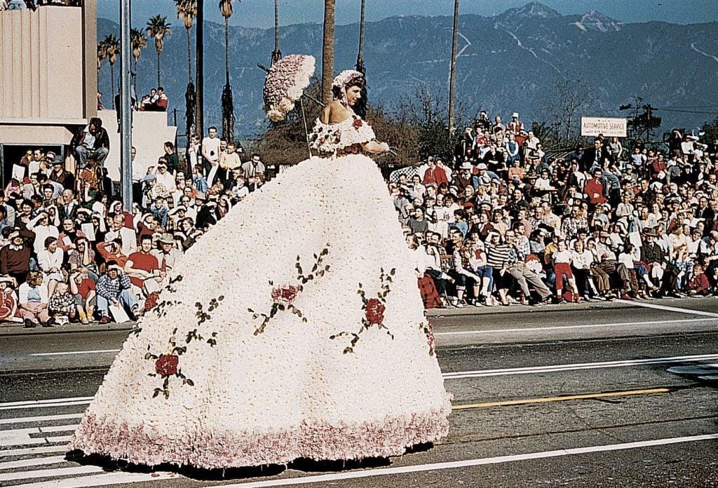 vintage rose parade photo