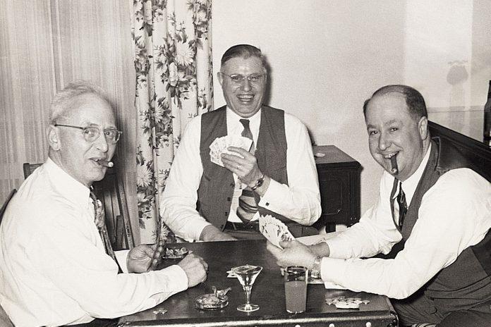 vintage new years celebration photo