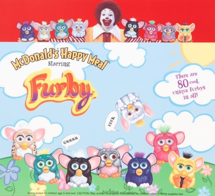 furby happy meal toy