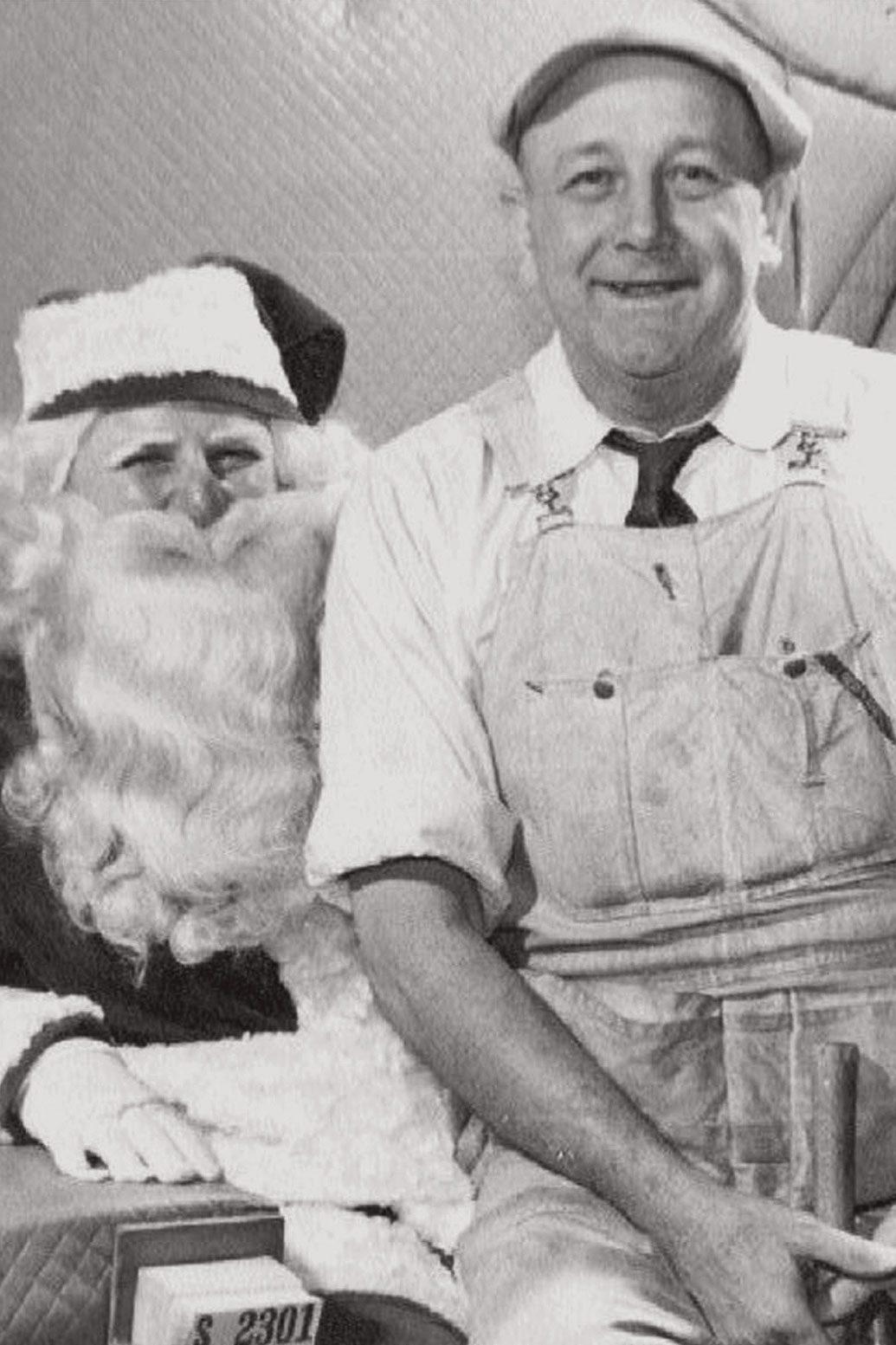vintage christmas photo