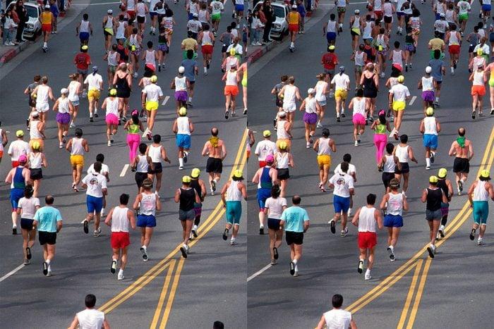 Find The Differences marathon scene