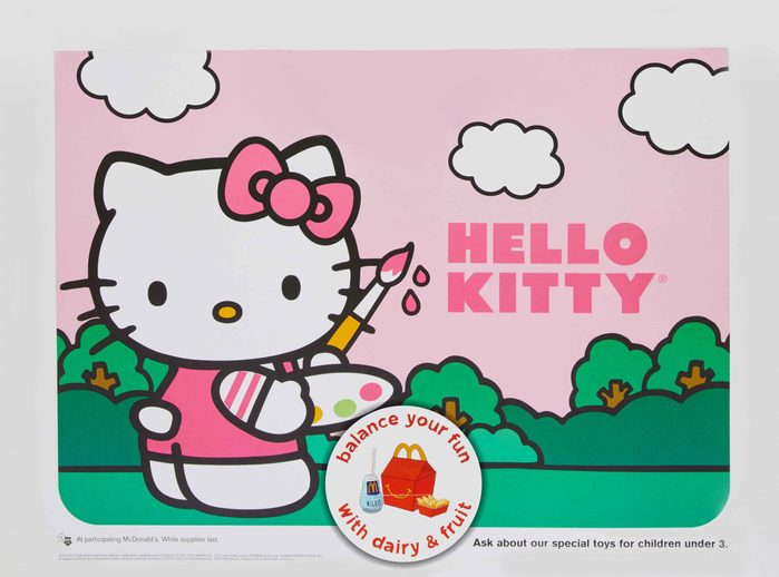 hello kitty happy meal toy