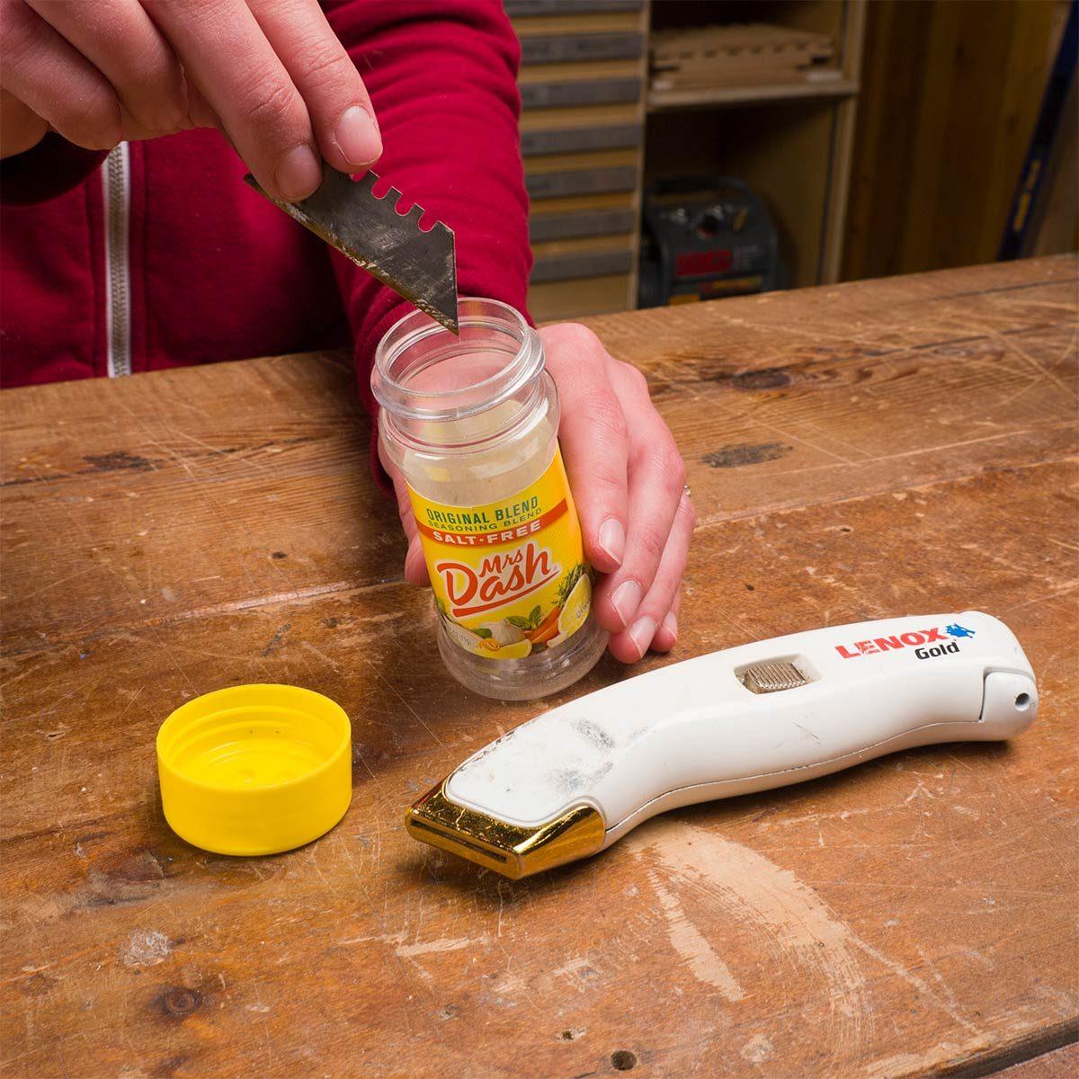 Safer Blade Disposal