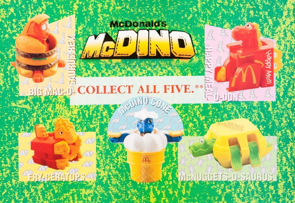 mcdino mcdonald's happy meal toy