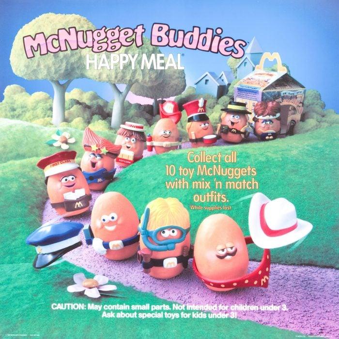 mcdonald's mcnugget buddies