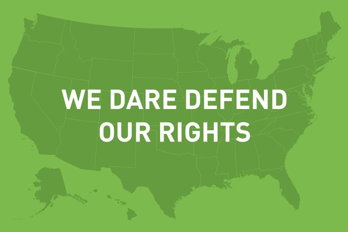 we dare defend our rights