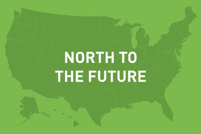 north to the future