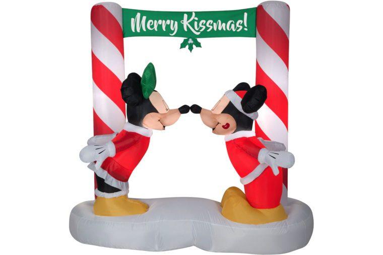 holiday decor mickey and minnie