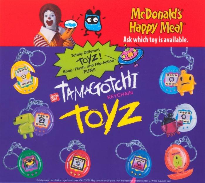 tamagotchi happy meal toy
