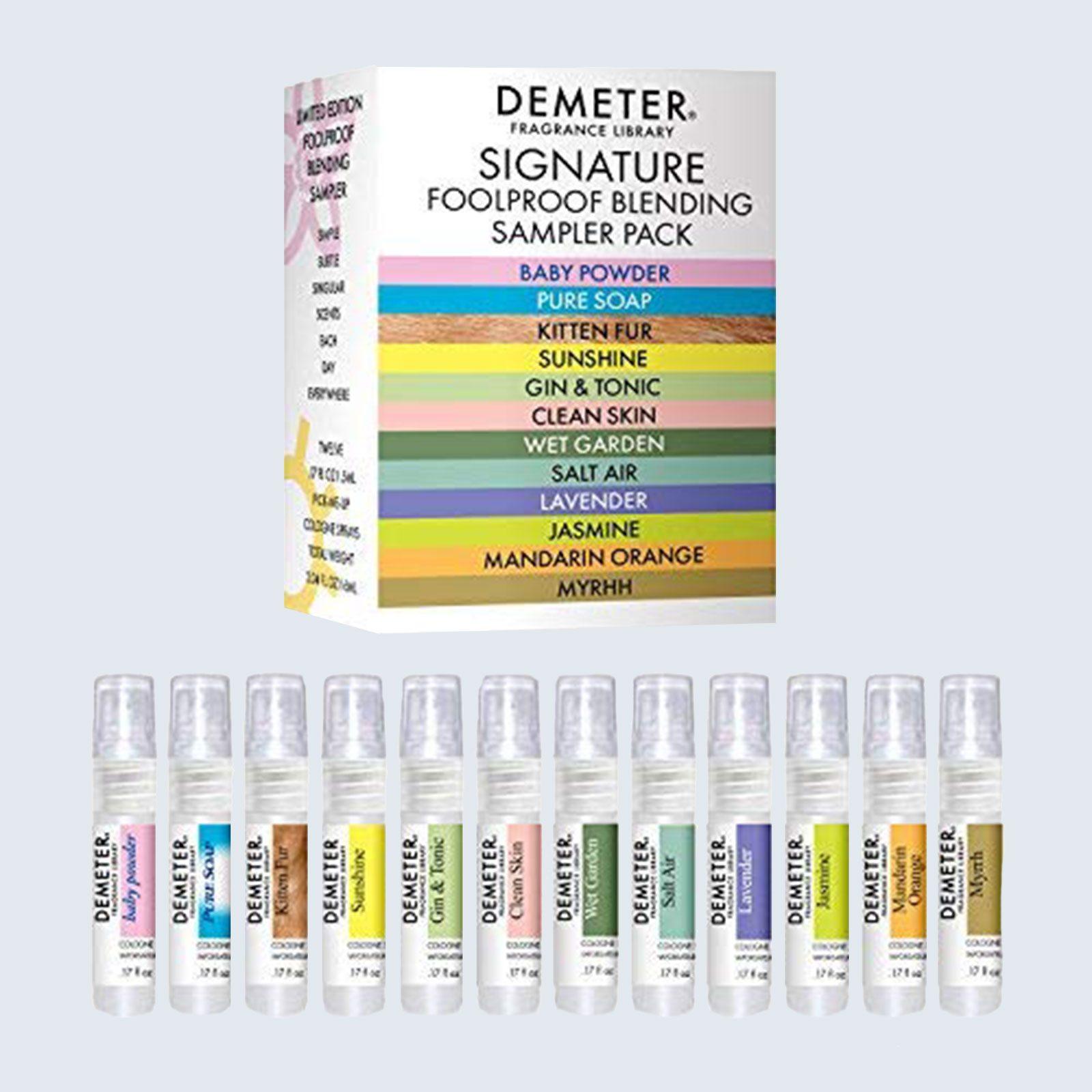 Demeter Fragrance Library Signature Blending Sampler Set