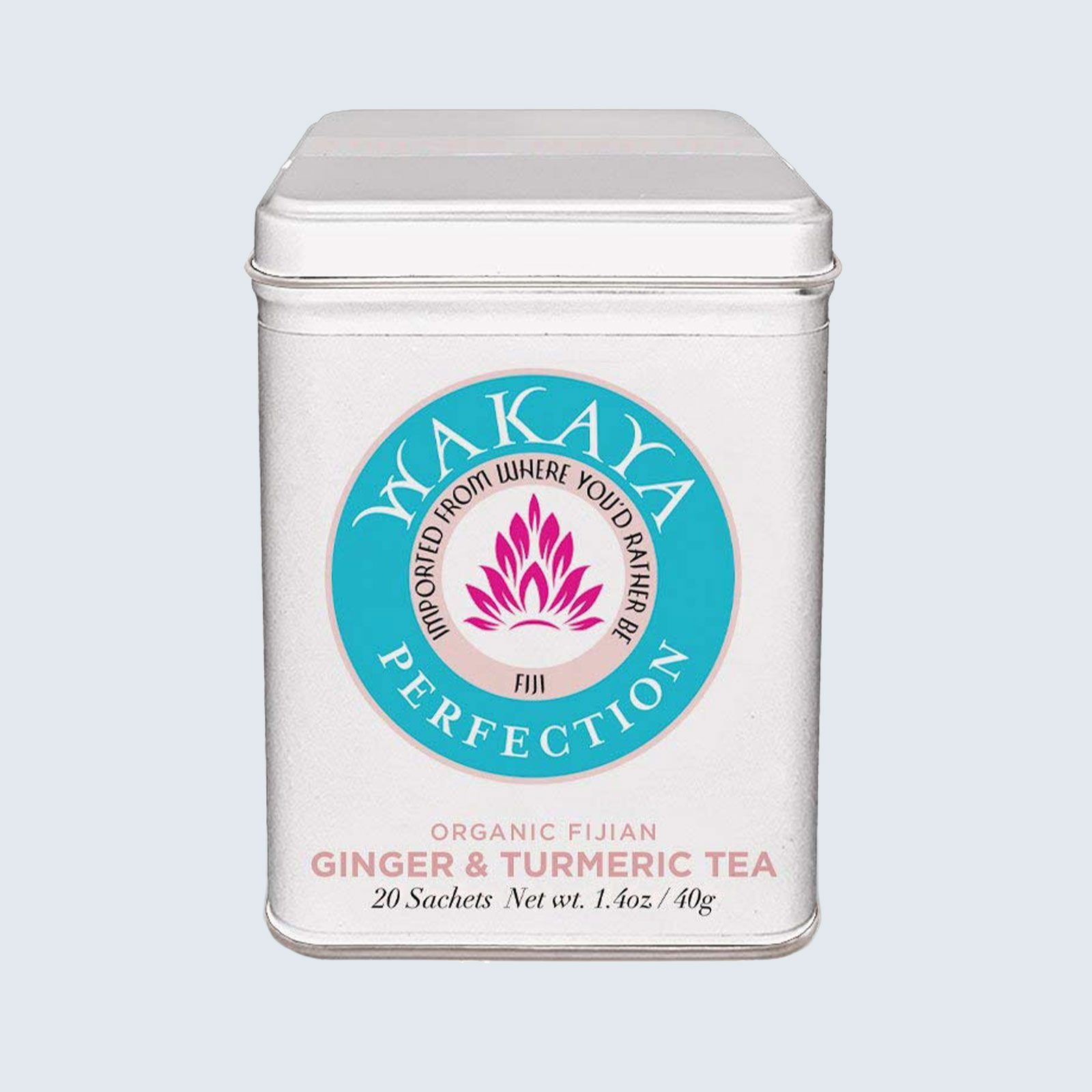 Wakaya Perfection Organic Fijian Ginger & Turmeric Tea