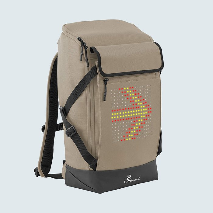 Roadwarez Road Tracker Bluetooth-Enabled Cycling Backpack
