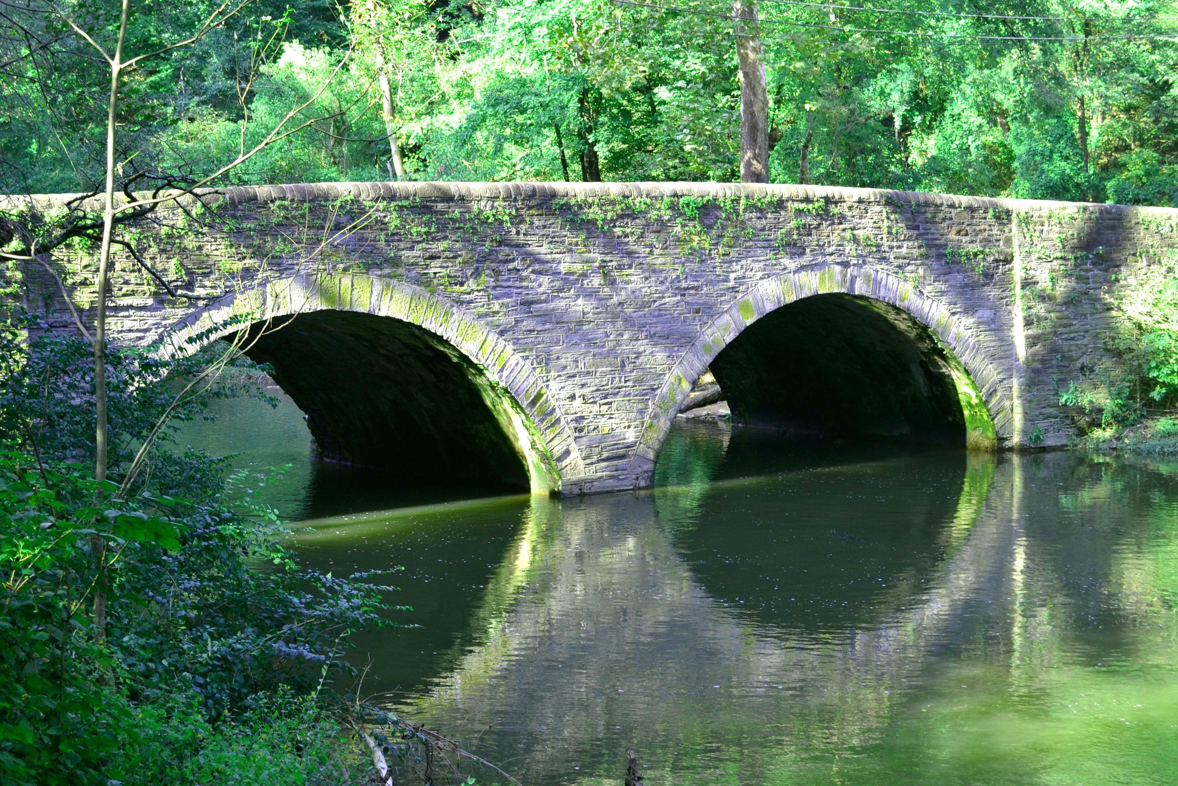 Bells Mill Road Bridge Philadelphia built 1820
