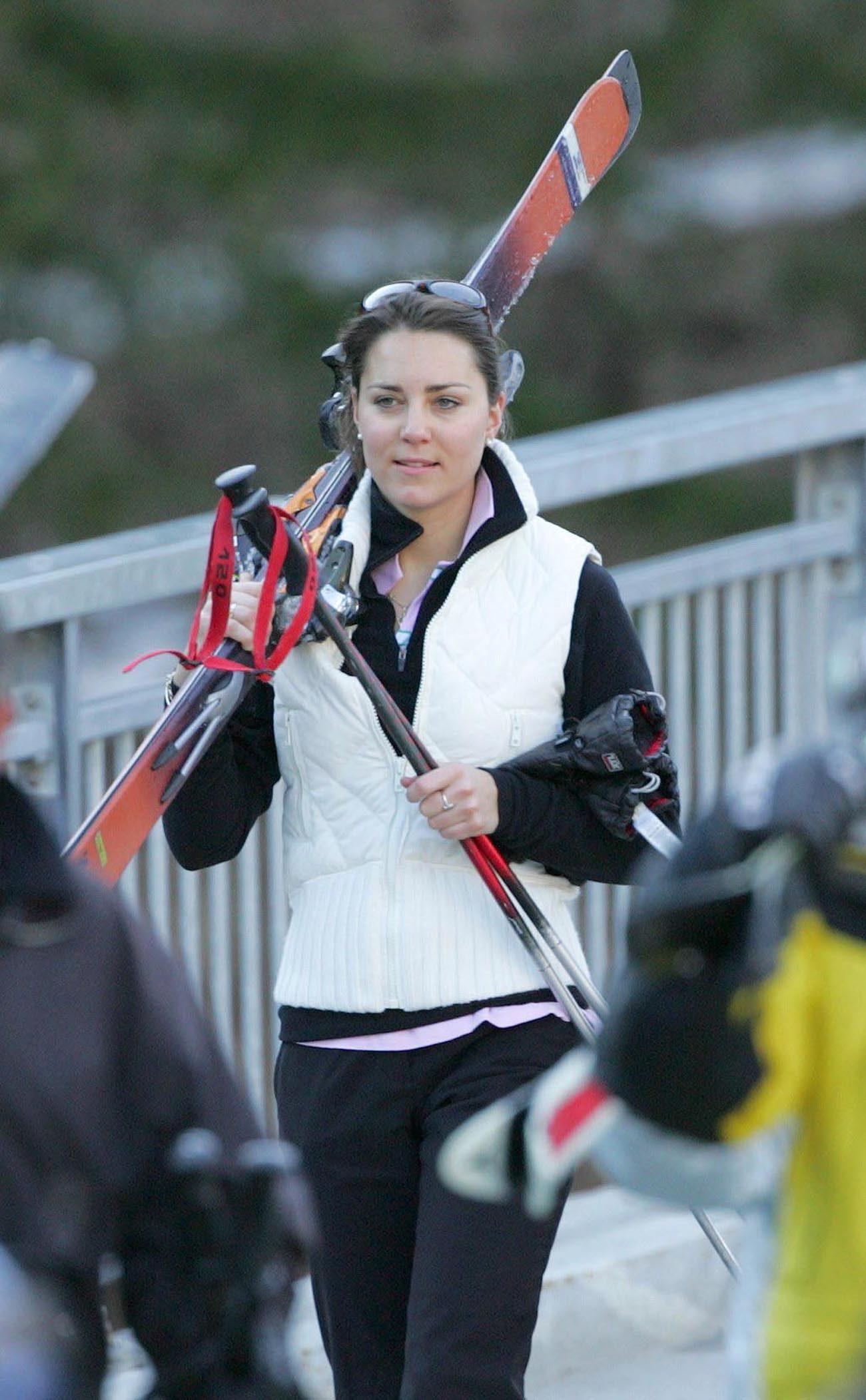 kate middleton ski school