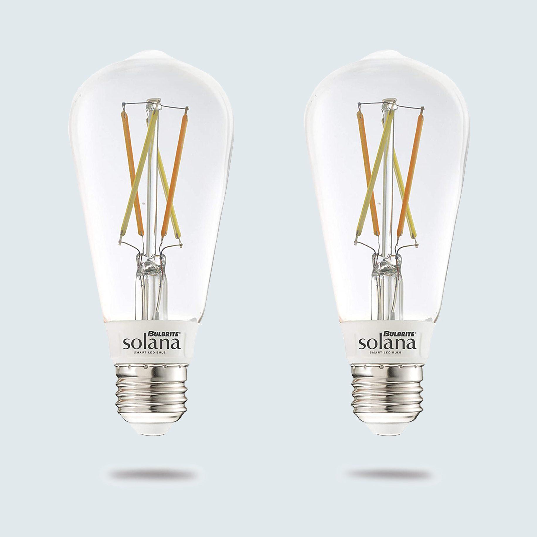 Bulbrite Solana Wifi Edison Filament LED Smart Bulbs