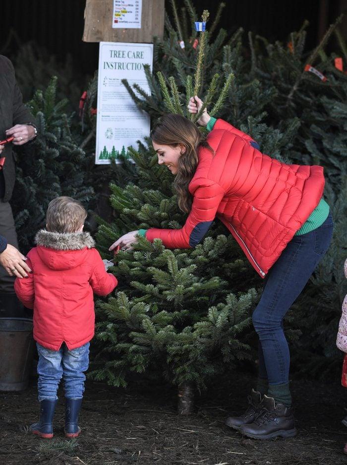 kate middleton christmas tree