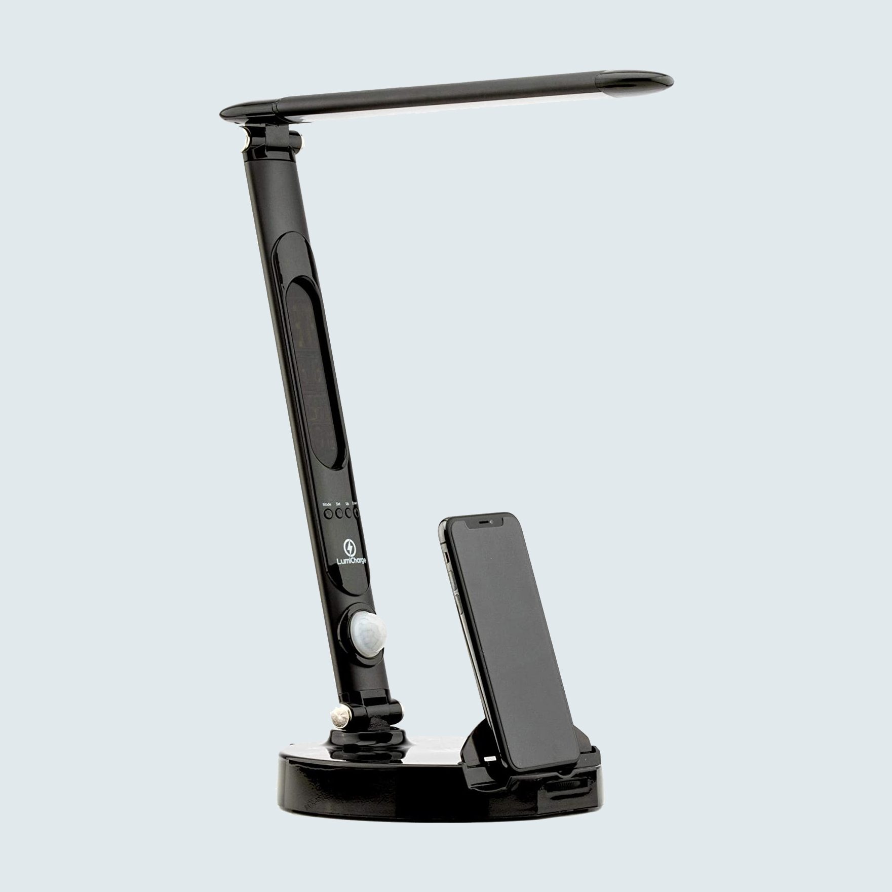 LumiCharge LED Smart Adjustable Desk Lamp