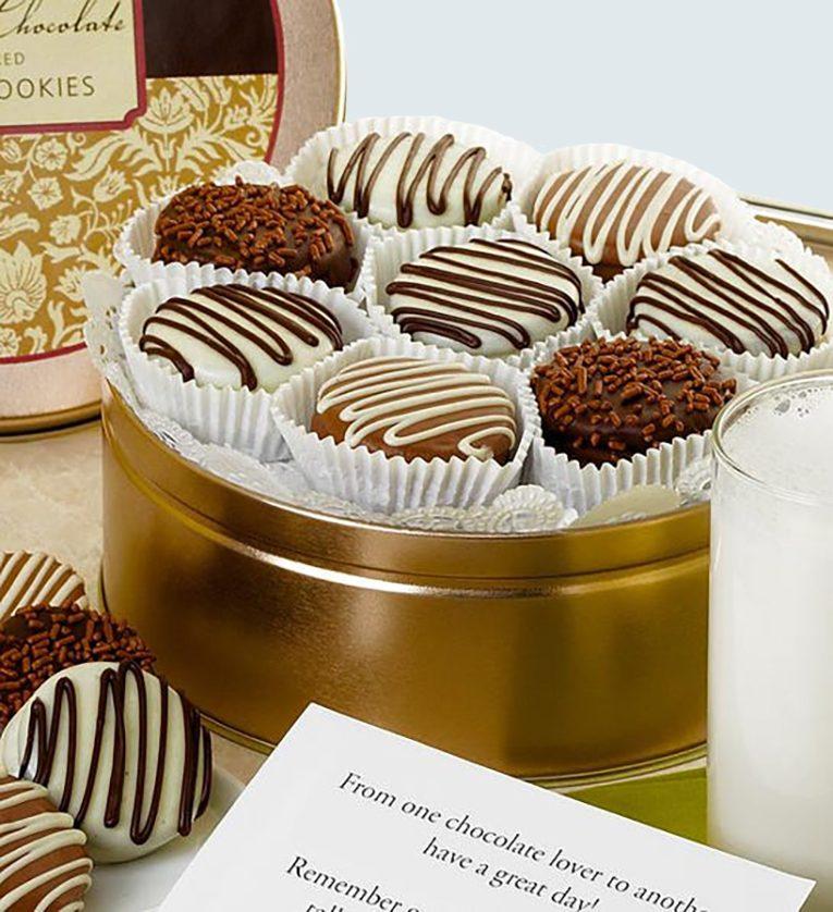 1-800-BASKETS.com Classic Belgian Chocolate Covered Oreos