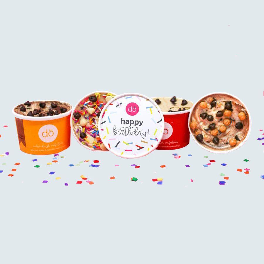 Happy Birthday Edible Cookie Dough