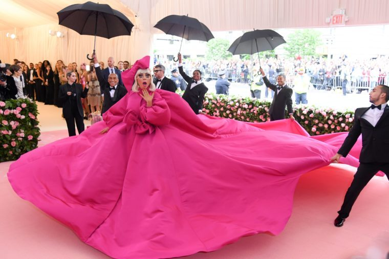 Lady Gaga at the Met Gala 6 May 2019