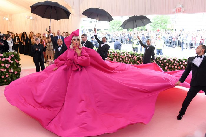 Lady Gaga at the Met Gala 6 May 2019