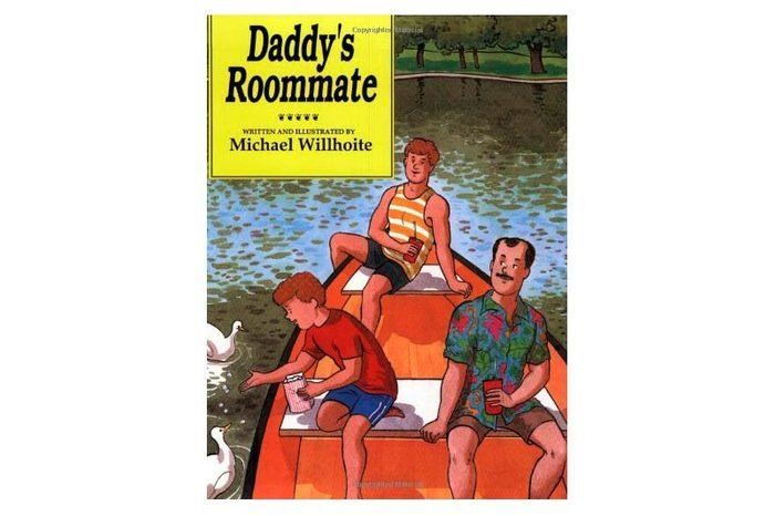 daddy's roommate book cover