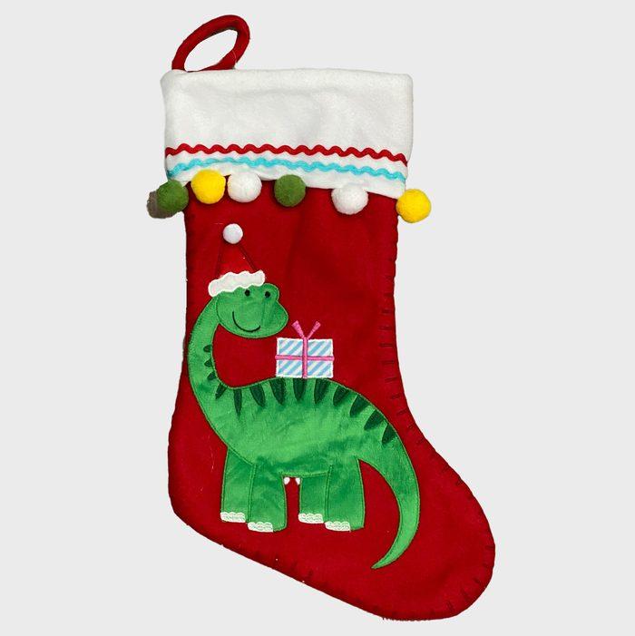 Dinosaur Christmas Stockings Via Etsy