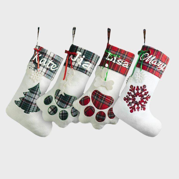 Family And Pet Stockings Via Etsy