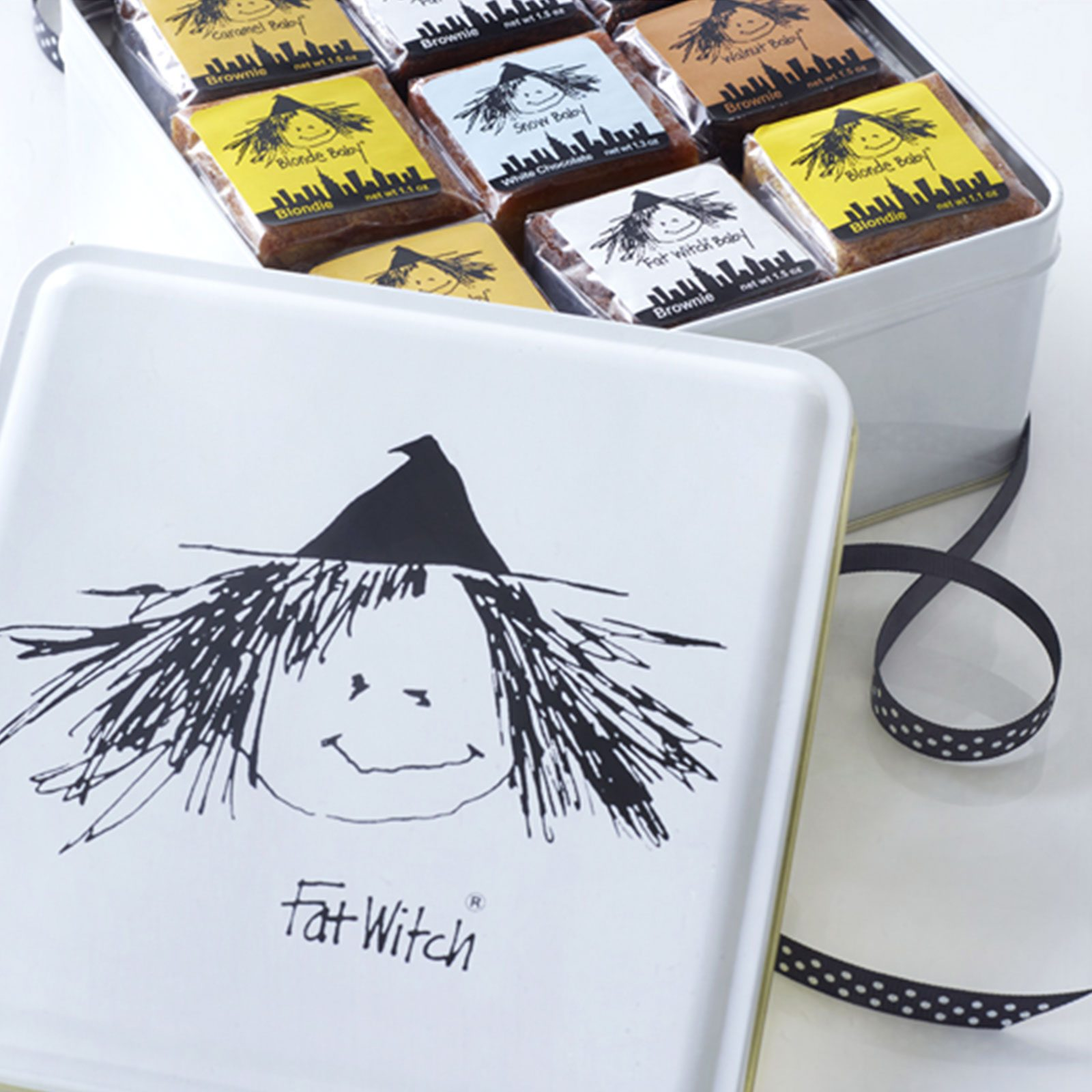 Fat Witch 18 Baby Witch Gift Tin