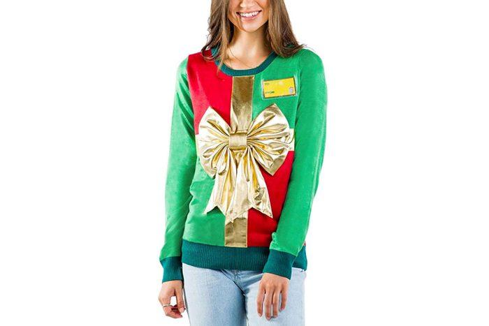 gift ugly christmas sweater