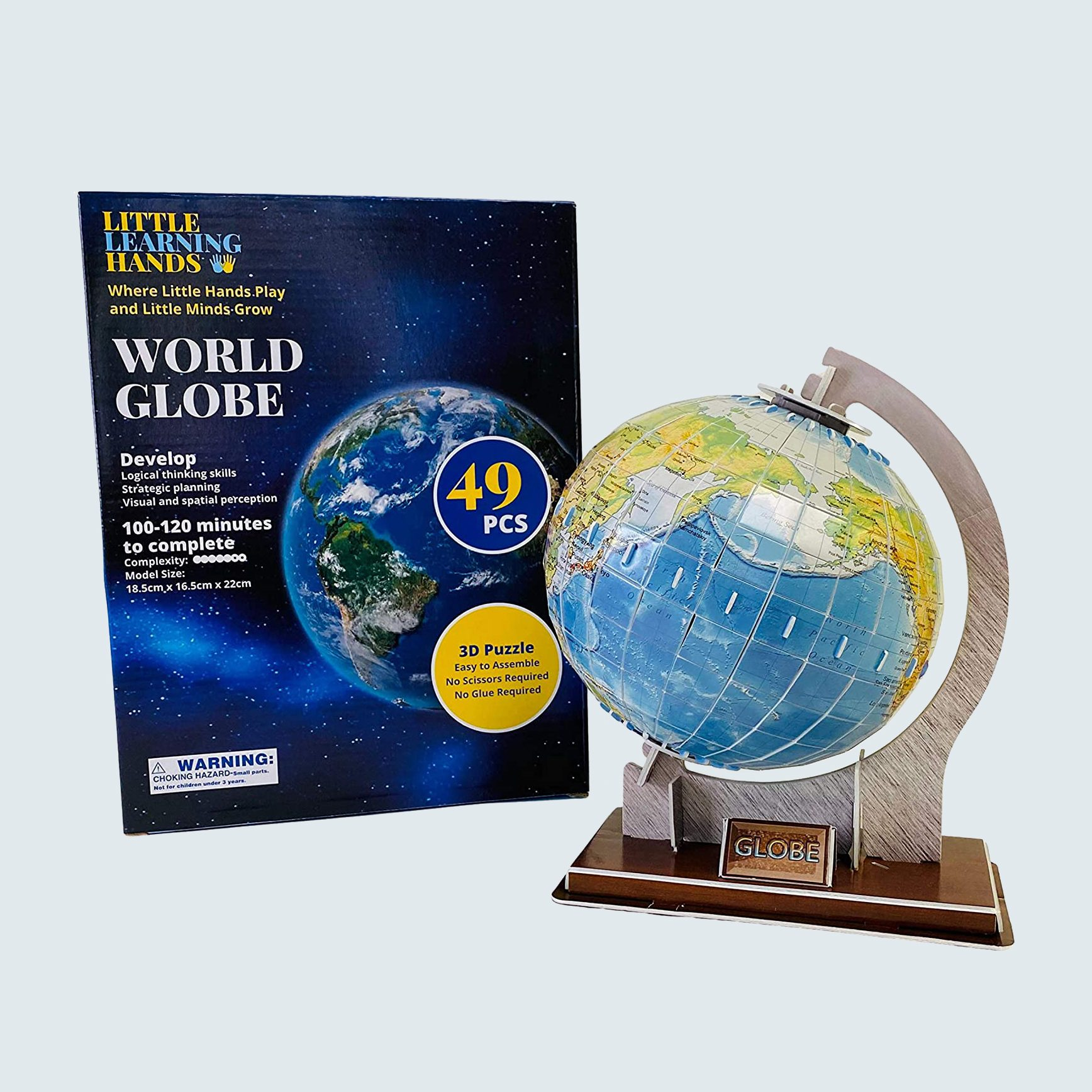 Little Learning Hands 3D Globe Puzzle