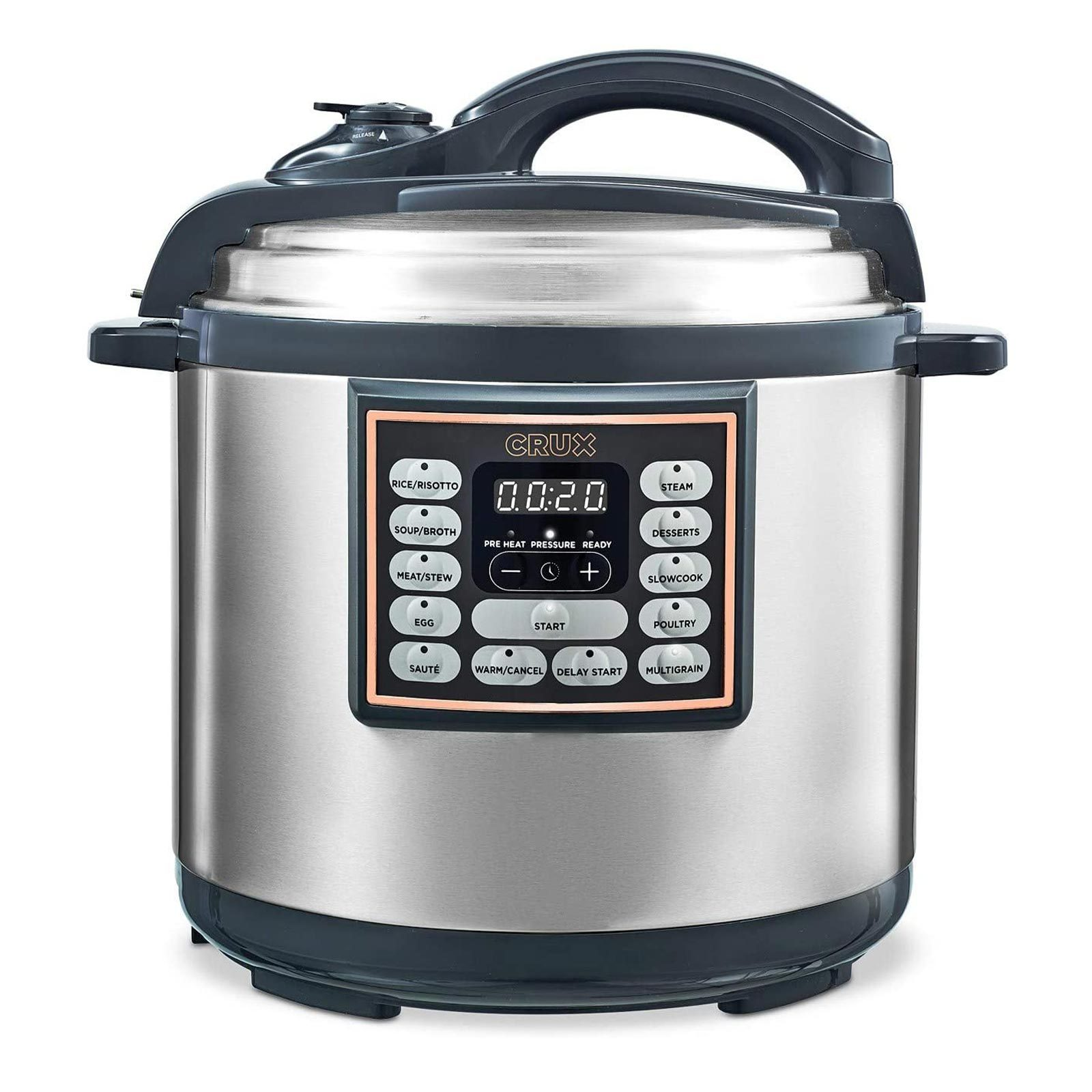 Crux 10-In-1 Programmable Multi-Cooker