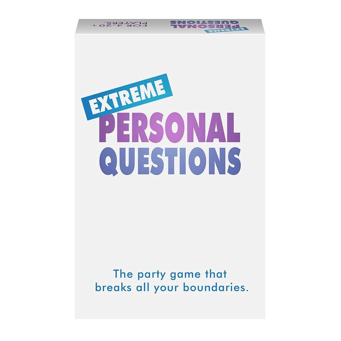 card game: extreme personal questions